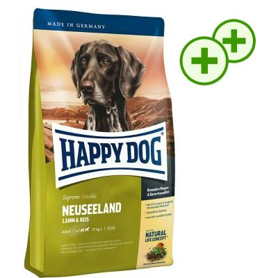 2 x zooPlusPisteitä: Happy Dog Supreme -suurpakkaus - Fit & Well Adult Sport (15 kg)
