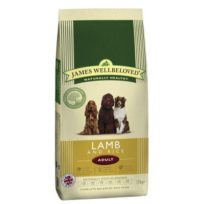 james-wellbeloved-adult-lam-ris-okonomipakke-2-x-15-kg