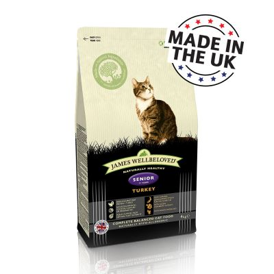 James Wellbeloved Senior 7+ Turkey & Rice - 4 kg