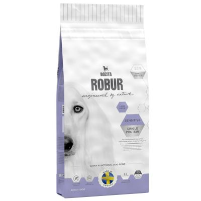 Bozita Robur Sensitive Single Protein Lamb & Rice - 15 kg