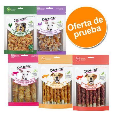 Dokas snacks - Pack de prueba - Pack mixto: 5 variedades