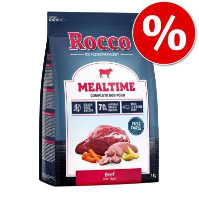 Kokeilutarjous: Rocco Mealtime -koiranruoka 1 kg lammas