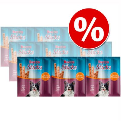 Rocco Sticks - Pack Ahorro - Vacuno (3 x 120 g)