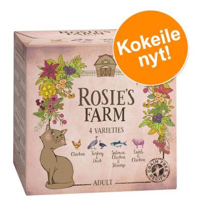 Rosie's Farm Adult -kokeilupakkaus 4 x 100 g - mix (4 makua)