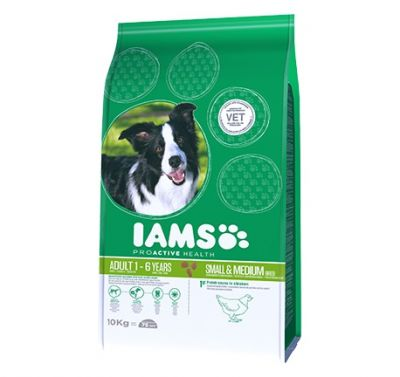 12kg Iams Proactive Health Dry Dog Food - 15% Off!* - Puppy & Junior Small & Medium (12kg)