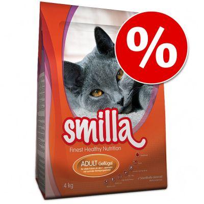 Smilla kissanruoka 1 kg erikoishintaan! - 1 kg Adult, siipikarja