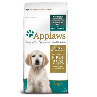 Applaws Puppy Small & Medium Breed Chicken – Ekonomipack: 2 x 7,5 kg
