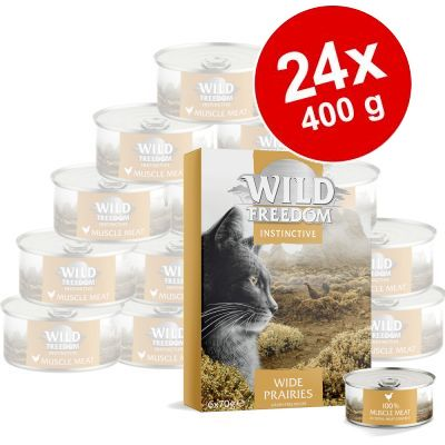 Ekonomipack: Wild Freedom Instinctive Adult 24 x 70 g - NY: Misty Mountains blandpack 4 sorter
