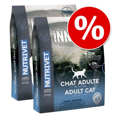 Nutrivet Inne Cat -säästöpakkaus 2 x 6 kg – Sterilised