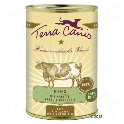 Terra Canis 6 x 400 g – Kanin med zucchini, amarant & ramslök