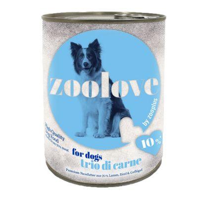 zoolove-konzerva-trio-di-carne-6-x-800-g
