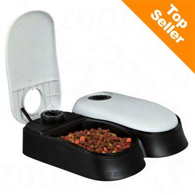 Trixie TX2-ruoka-automaatti - ruoka-automaatti, 2 x 0,30 l