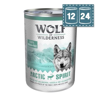 "Sparpaket Wolf of Wilderness Adult ""Arctic Spirit"" - Rentier"