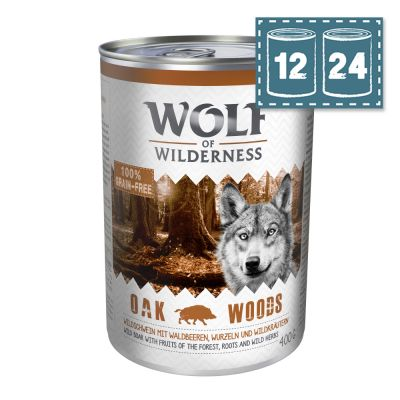 "Sparpaket Wolf of Wilderness Adult ""Oak Woods"" - Wildschwein"