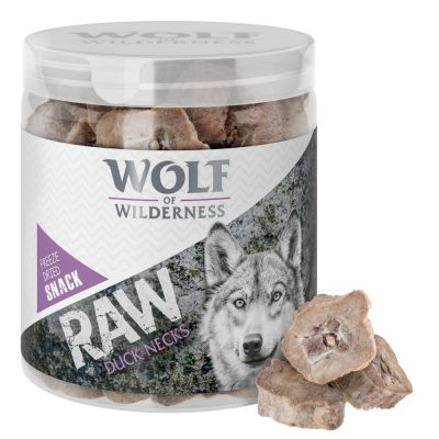Wolf of Wilderness - Gevriesdroogde Premiumsnacks - Eendenhals