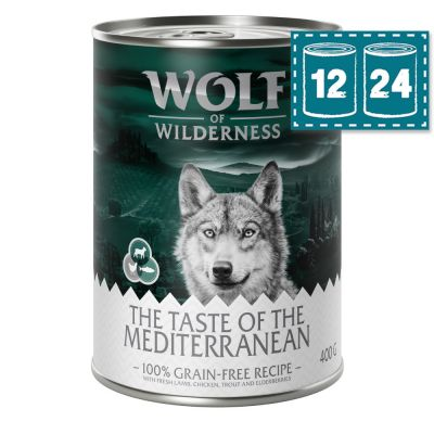 "Sparpaket Wolf of Wilderness ""The Taste of The Mediterranean"""