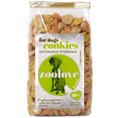 zoolove Hundekekse 200 g - Wild