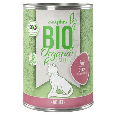 zooplus Bio kachna s cuketou 6 x 400 g