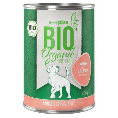 zooplus Bio 6 x 400 g za zvýhodněnou cenu Krůtí s prosem