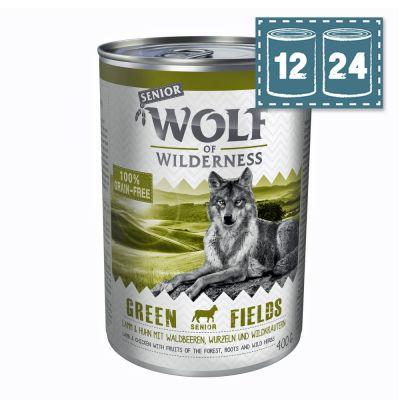 """Sparpaket Wolf of Wilderness Senior """"Green Fields"""" - Lamm"""