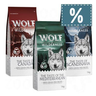 """NEU! Wolf of Wilderness """"The Taste of Canada"""" - gemischtes Paket"""