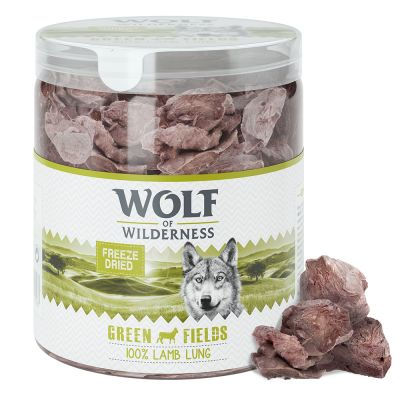 "Wolf of Wilderness ""Green Fields"" - Gefriergetrocknete Premium-Snacks - Lammlunge"