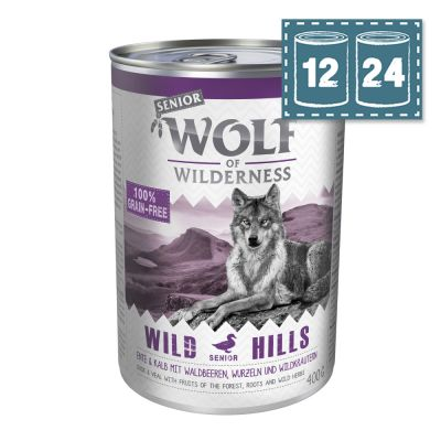 """Sparpaket Wolf of Wilderness Senior - """"Wild Hills"""" - Ente"""