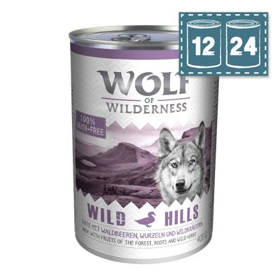 "Sparpaket Wolf of Wilderness Adult ""Wild Hills"" - Ente"