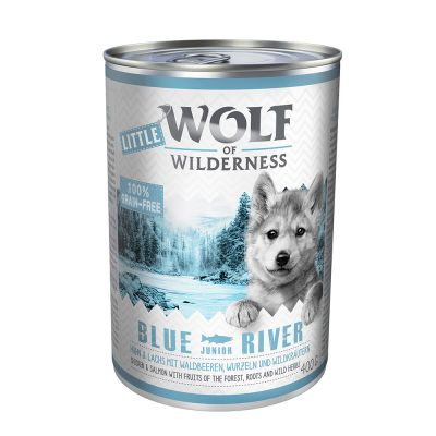 "Little Wolf of Wilderness Junior ""Blue River"" - Huhn & Lachs"
