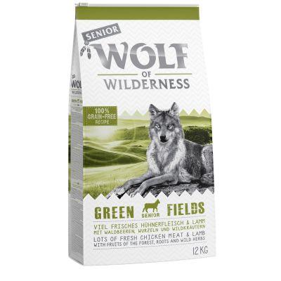 """Wolf of Wilderness Senior """"Green Fields"""" - Lamm"""