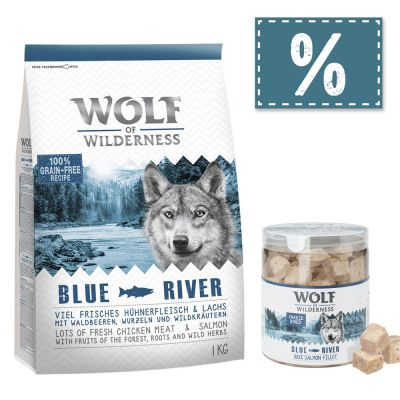 Wolf of Wilderness Adult 4 kg Trockenfutter + gefriergetrocknete Premiumsnacks