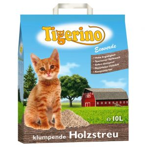 Tigerino Wood based clumping Cat Litter